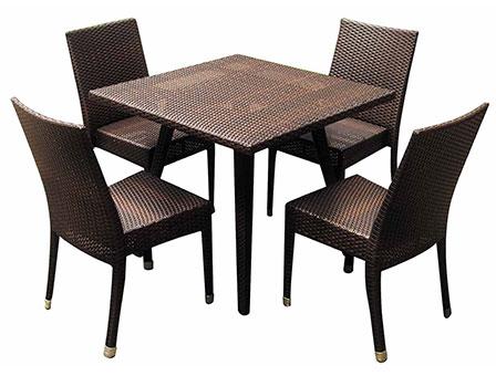 埃菲尔高级编藤桌椅