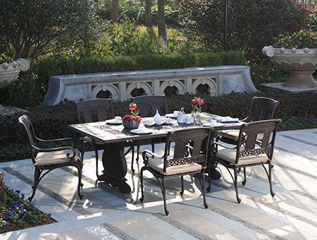 奥赛罗高级铸铝桌椅