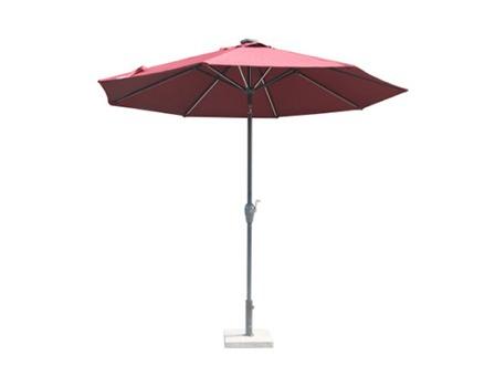 带灯偏转罗马伞